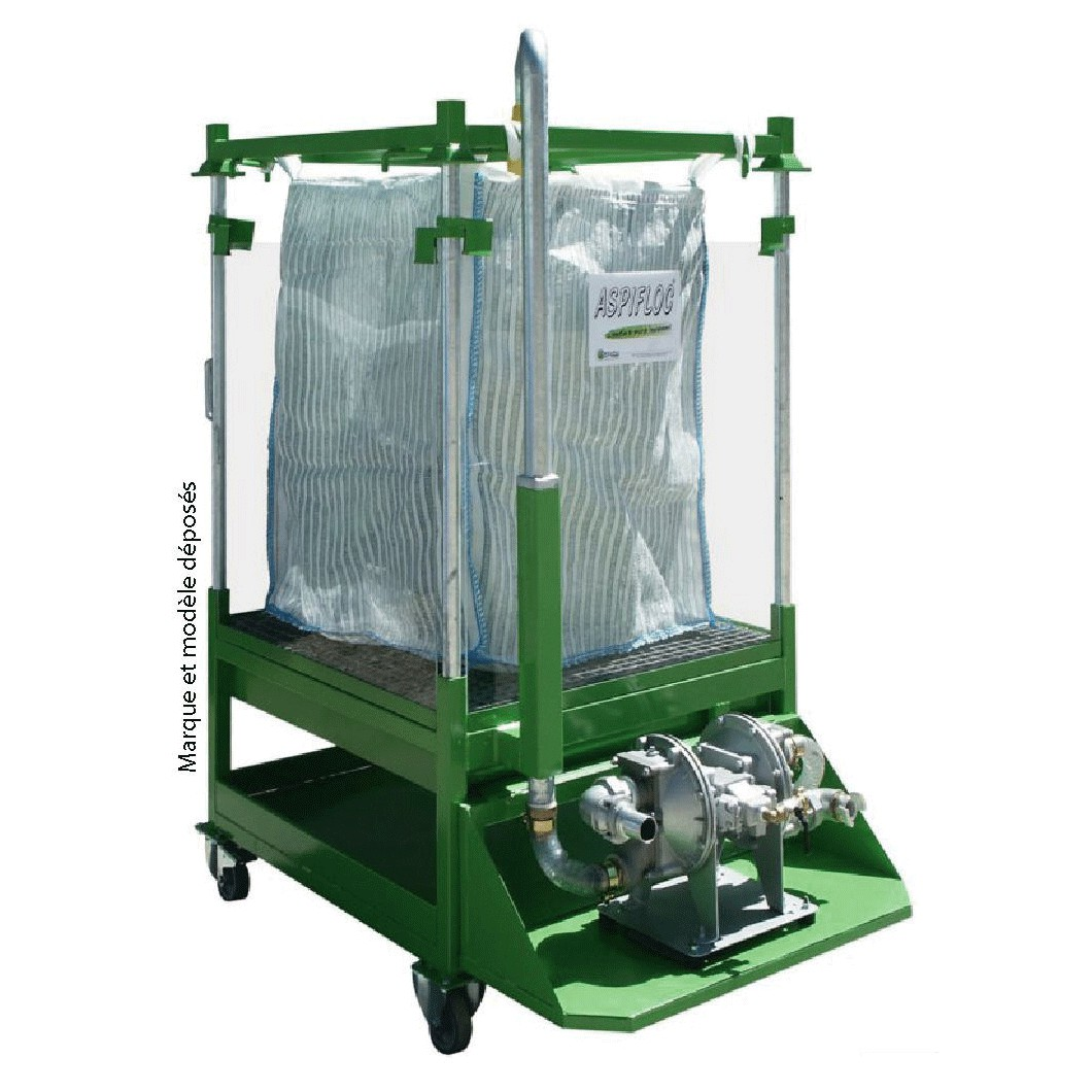 Paint sludge treatment mobile system for Laden mobel