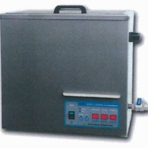 Ultrasonic cleaning tank for metal parts