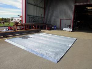 Plateforme de lavage et recyclage des eaux de lavage chargé de boue et amiante / Traitement des effluents de carénage /Aspifloc
