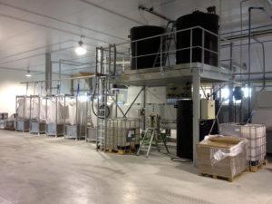 Station automatique de traitement et de stockage d'eau après procédé physico-chimique / Station épuration et de traitement des eaux / Aspifloc