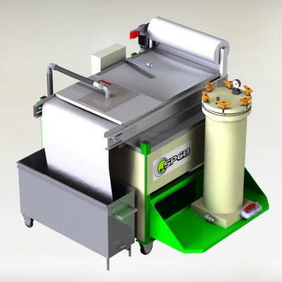 Filtration des bains de dégraissage par microfiltration et deshuilage