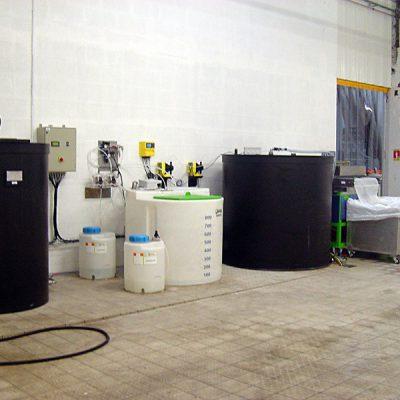 """Unité de traitement et de recyclage d'eau de lavage Aspifloc"""""""