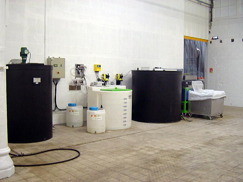 station automatis e de recyclage d 39 eau de d graissage et. Black Bedroom Furniture Sets. Home Design Ideas